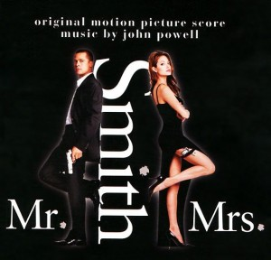 Audio CD Mr. & Mrs. Smith. Original Motion Picture Score Musik By John Powell