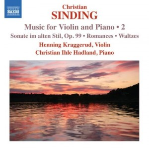 Audio CD Kraggerud, Hadland. Music for Violin and Piano Vol.2