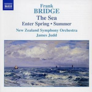 Audio CD James Judd, New Zealand Symphony Orchestra. The Sea/ Enter Spring