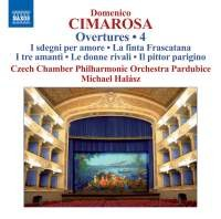 Audio CD Cimarosa. Overtures Volume 4