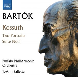 Audio CD Michael Ludwig. Bartok, B.: Kossuth, Two Portraits, Suite Op. 3