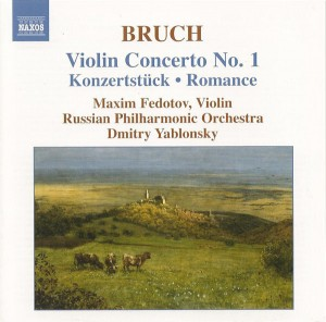 Audio CD Maxim Fedotov, Dmitry Yablonsky, Russian Philharmonic Orchestra. Violin Concerto No. 1