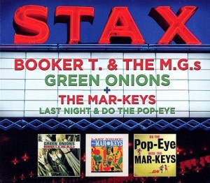 Audio CD Booker T. & The M.G.s. Green Onions / The Mar-Keys. Last Night & Do The Pop-Eye