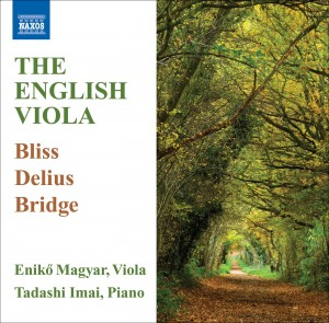 Audio CD Eniko Magyar & Tadashi Imai. Bliss/Delius/Bridge: The English Viola
