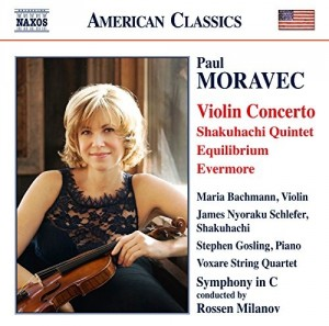 Audio CD Paul Moravec. Violin Concerto, Shakuhachi Quintet, Equilibrium, Evermore