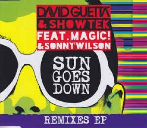 Audio CD David Guetta & Showtek Feat. MAGIC! & Sonny Wilson. Sun Goes Down (Remixes EP)