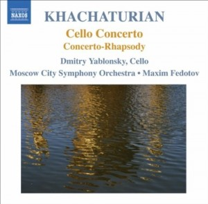 Audio CD Yablonsky Fedotov, Moscow So. Cello Concerto
