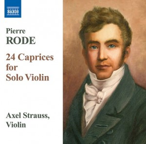 Audio CD Axel Strauss, Rode Pierre. 24 Caprices F. Solo Violin