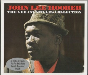 Audio CD John Lee Hooker. The Vee Jay Singles Collection