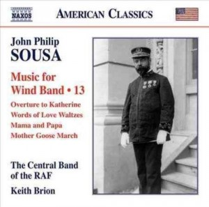 Audio CD Central Band of the Royal Air Force, Keith Brion. Music for Wind Band: Various