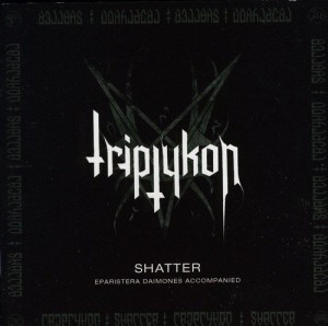 Audio CD Triptykon. Shatter EP