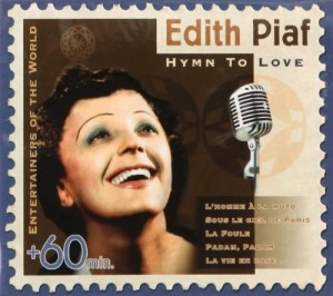 Audio CD Edith Piaf. Hymn to love