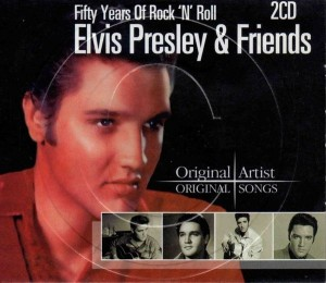 Audio CD Elvis Presley & friends. Fifty years of rock 'n' roll