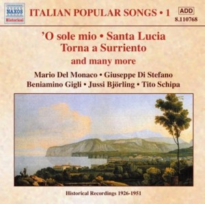 Audio CD Various. Italian Popular Songs Vol.1