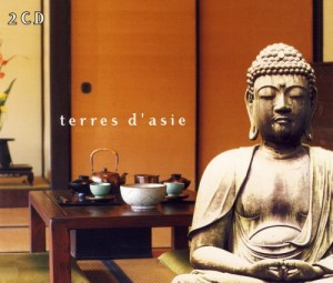 Audio CD Various Artists. White Line Terres D'asie