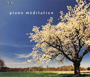 Audio CD Various Artists. White Line Piano meditation