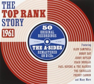 Audio CD Various Artists. The Top Rank Story 1961