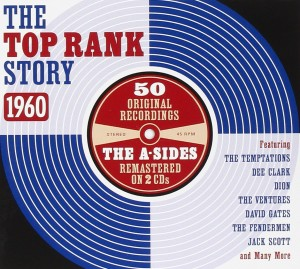 Audio CD Various Artists. The Top Rank Story 1960
