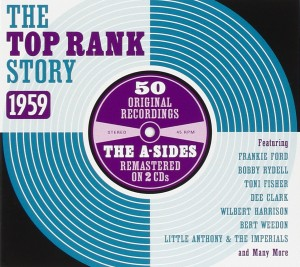Audio CD Various Artists. The Top Rank Story 1959 - A Sides