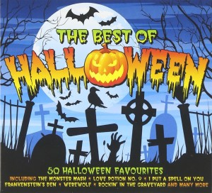 Audio CD Various Artists. The Best Of Halloween