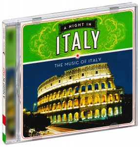Audio CD Various Artists. A Night in Italy