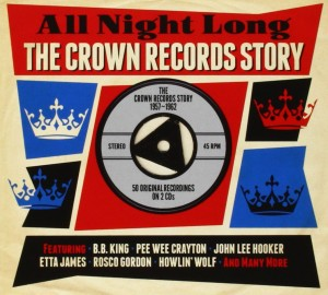 Audio CD Various Artists. All Night Long: The Crown Records Story 1957-1962