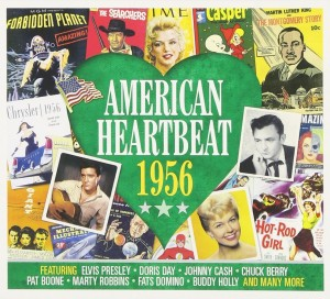 Audio CD Various Artists. American Heartbeat 1956