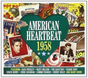 Audio CD Various Artists. American Heartbeat 1958
