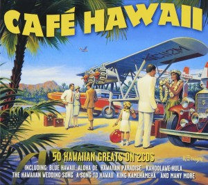 Audio CD Various Artists. Cafe Hawaii