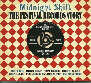 Audio CD Various Artists. Midnight Shift: The Festival Records Story 1958-1960
