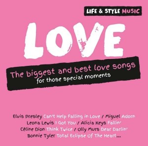 Audio CD Various Artists. Life & Style Music: Love