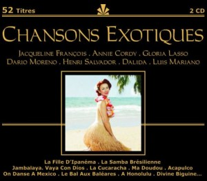 Audio CD Various Artists. Chansons Exotiques