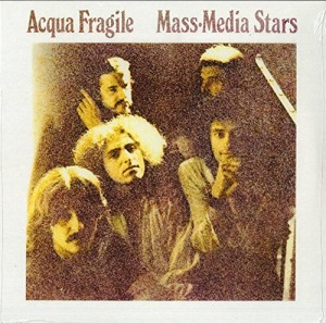 LP Acqua Fragile: Mass-Media Stars (LP)