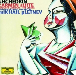 Audio CD Mikhail Pletnev. Shchedrin. Carmen Suite, etc.