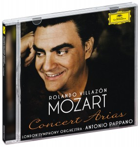 Audio CD Villazon, Rolando Mozart: Concert Arias