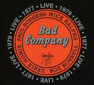 Audio CD Bad Company. Live In Concert 1977 & 1979