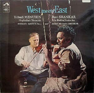 LP Yehudi Menuhin & Ravi Shankar. West Meets East (LP)