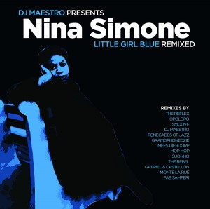 LP Nina Simone & DJ Maestro. Little Girl Blue Remixe (LP)
