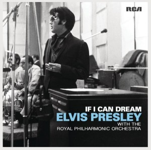 Audio CD Elvis Presley with the Royal Philharmonic Orchestra. If I Can Dream / The Wonder of You