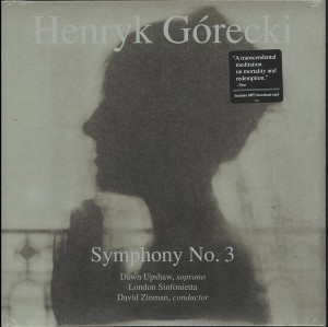 LP Dawn Upshaw, London Sinfoniett. Gorecki: Symphony No. 3 (LP)