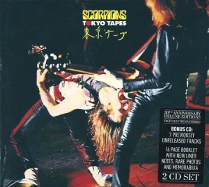 Audio CD Scorpions. Tokyo Tapes (50th Anniversary Deluxe Edition)