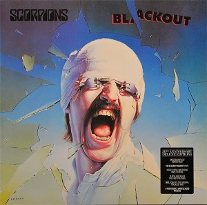 LP Scorpions. Blackout (50th Anniversary Deluxe Edition) (LP)