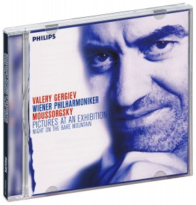 Audio CD Valery Gergiev, Wiener Philharmoniker. Mussorgsky - Pictures at an Exhibition / Night on the Bare Mountain