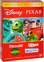 DVD Disney Pixar: ������������� �������, ��� 1 (4 DVD) / ������������ / ����������� ����� / � ������� ���� / ���������� ��������