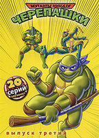 ������� ��������� ������. ������ 3 (DVD) / Teenage Mutant Ninja Turtles