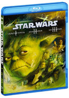 �������� �����: ��������. ������� I, II, III (3 Blu-Ray) / Star Wars: Episode I: The Phantom Menace / Star Wars: Episode II - Attack of the Clones / Star Wars: Episode III - Revenge of the Sith / Star Wars: Episode III - Rise of the Empire
