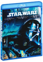 Blu-Ray Звездные войны: Трилогия. Эпизоды IV, V, VI (3 Blu-Ray) / Star Wars: Episode IV: A New Hope / Star Wars: Episode V: The Empire Strikes Back / Star Wars: Episode VI: Return of the Jedi