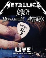 DVD Metallica: Live From Sonisphere Festival, Sofia, Bulgaria (2 DVD) / Metallica / Slayer / Megadeth / Anthrax