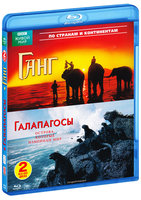 BBC: По странам и континентам: Ганг / Галапагосы (2 Blu-Ray) / Ganges / Galapagos