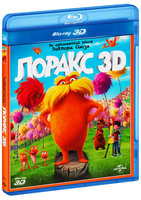 Blu-Ray Лоракс (Real 3D Blu-Ray) / The Lorax / Dr. Seuss' The Lorax / Dr. Seuss' The Lorax: An IMAX 3D Experience